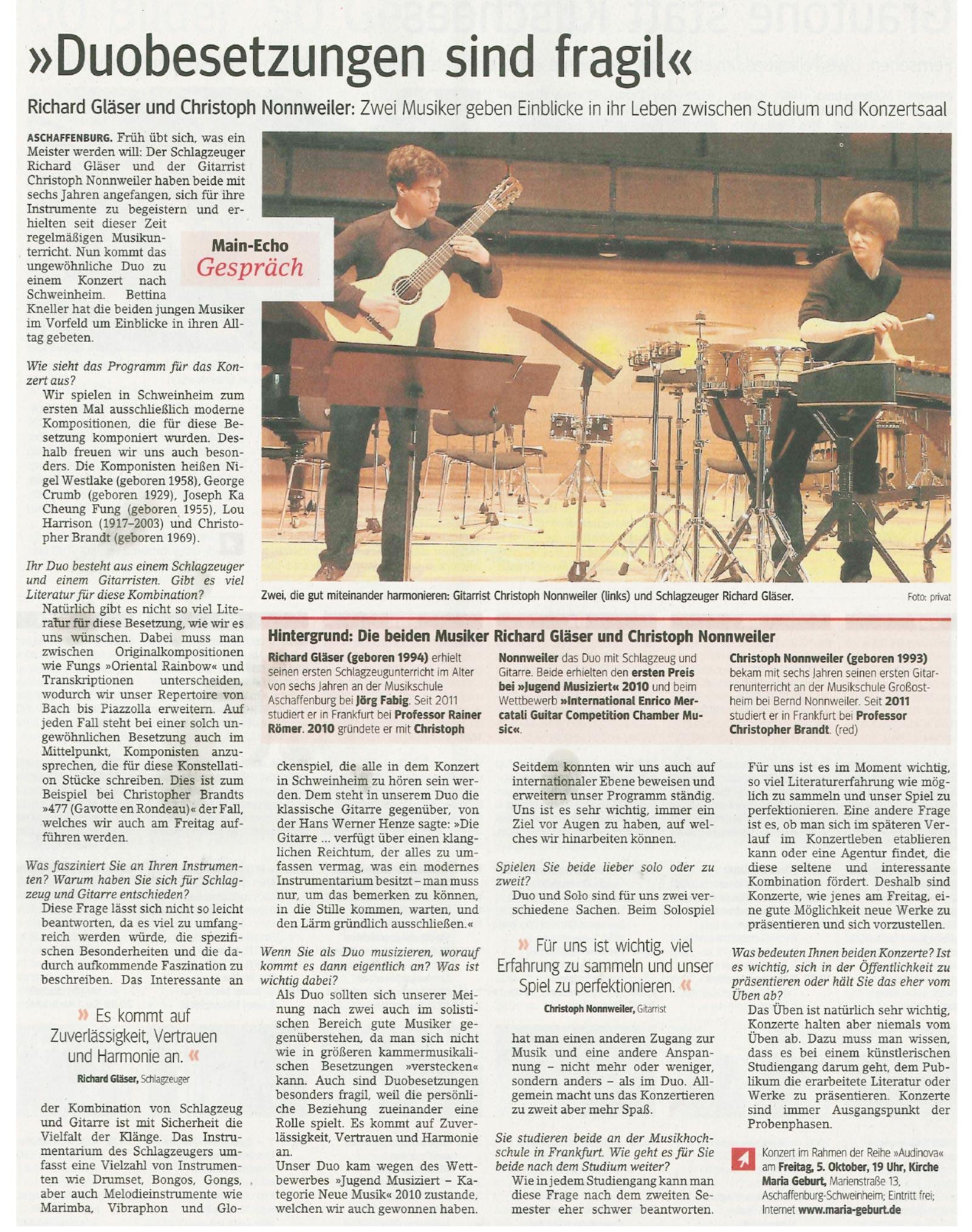 Interview-MainEcho-Oktober-2012_optimiert